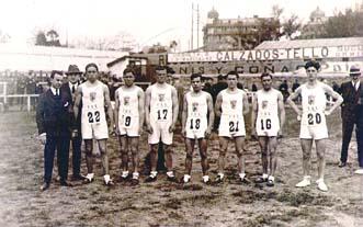 Primera participación en campeonatos de España de atletismo