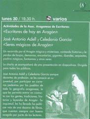 Seres Mágicos de Aragón
