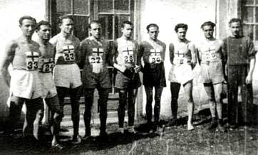 Aragoneses en el Nacional de Cross (1940-1943)