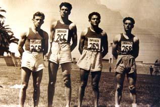 Alberto Portera, protagonista de la época dorada del atletismo universitario zaragozano