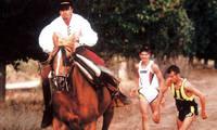 Lanaja recupera hoy en sus fiestas el desafío 'hombre-caballo'