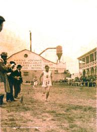 Dionisio Magén, precursor de la Federación Aragonesa de Atletismo
