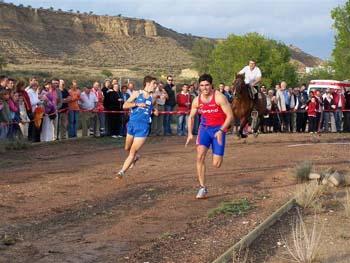 Desafío «Hombre contra caballo» en Lanaja