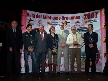 Gala del Atletismo Aragonés 2007