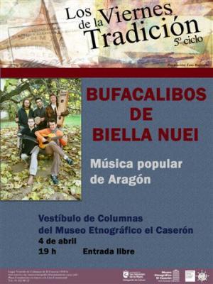 Bufacalibos de Biella Nuei en concierto. San Sebastián de los Reyes