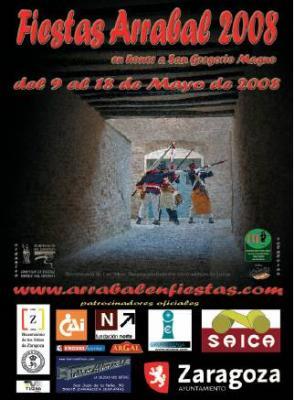 Programa de Fiestas del Arrabal 2008 (Zaragoza)