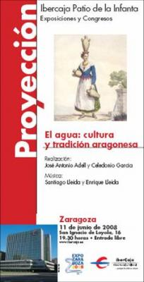 Agua: cultura y tradición aragonesa en Ibercaja Patio de la Infanta