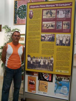 Homenaje a Alejandro Pérez, de La Cartuja Baja (Zaragoza)