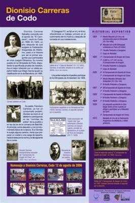 Homenaje a Dionisio Carreras en Codo