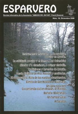 Esparvero nº 18, la revista de los Amigos del Batán de Fiscal