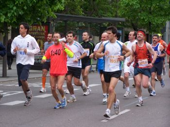 Fotografías y resultados de la XII Media Maratón Ciudad de Zaragoza 2009
