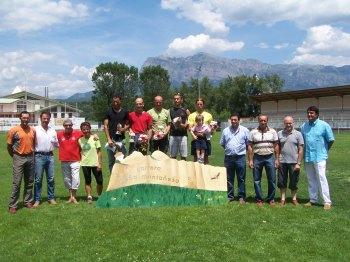 El Habid Bouali y Mónica Ardid, vencedores de la IV Carrera por Montaña A Güella perdida