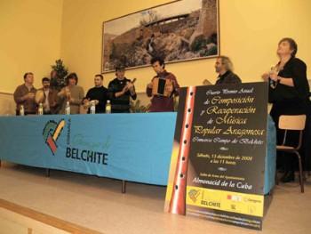V Premio Anual de Composición y Recuperación de Música Popular Aragonesa Comarca Campo de Belchite