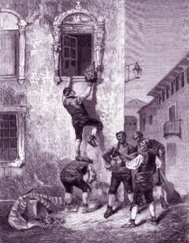 El ramo o la madrugada de San Juan en Zaragoza