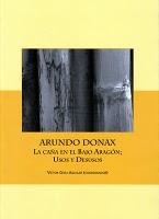 Presentación del libro colectivo Arundo donax. La caña en el Bajo Aragón; Usos y desusos