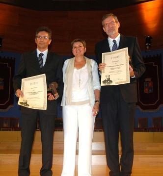 José Antonio Adell y Celedonio García reciben el Galardón Joaquín Costa