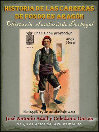 Chistavín, el andarín de Berbegal, y las carreras de fondo en Aragón