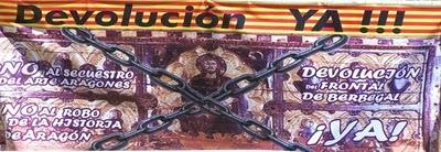 El trasvase de objetos de arte de Huesca a Cataluña