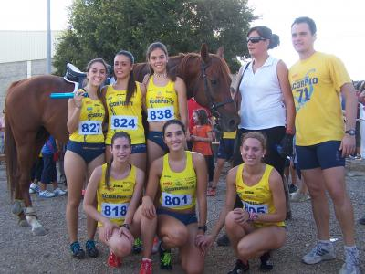 Las chicas del Scorpio 71 derrotan al caballo Kaiser en Lanaja